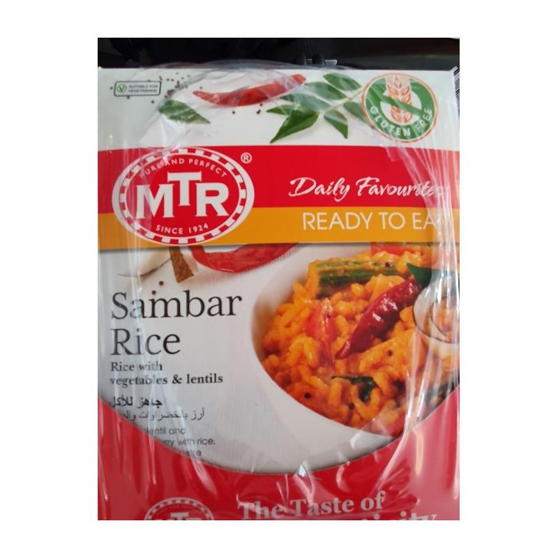 MTR Ready to Eat Sambar Rice